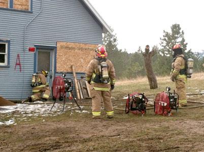 2012 ventilation training of Mica-Kidd Island Fire, Idaho